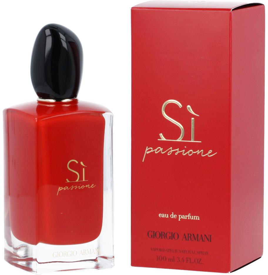 be7f5d051 Giorgio Armani Sí Passione parfumovaná voda dámska 100 ml od 76,95 € -  Heureka.sk