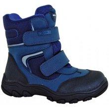 1a9e27b7166b Protetika chlapecké zimní boty s membránou Torsten modrá