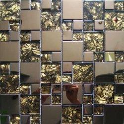 Maxwhite JSM-JC013 Mozaika sklenená nerez bronzová hneda 29,7x29,7cm
