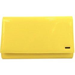 ee2f90f16b2 Grosso lakovaná dámska listová kabelka SP100 žltá alternatívy ...