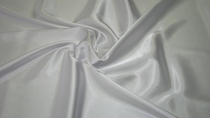 Satén jednofarebný elastický biely - Satén jednofarebný elastický Predaj je  po 0 a2e195929f4