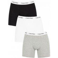 7913adb584 Calvin Klein Sada boxeriek Cotton Stretch 3P Boxer Brief NB1770A-MP1  Black