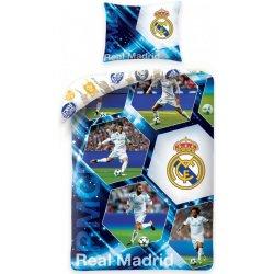 8c2b431ba781e Setino bavlna obliečky Real Madrid s fotografiami hráčov 140x200 70x90 od  25,29 € - Heureka.sk