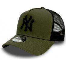 8a29d0b14 New Era 9Forty Trucker League Essential MLB New York Yankees Detská šiltovka  Olive/Black