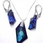 Set šperkov De-Art BERMUDE BLUE Swarovski Elements SE36