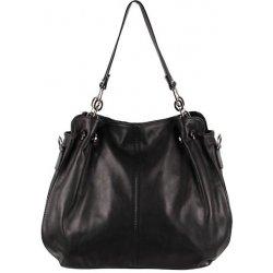 Made In Italy kožená kabelka 842 čierna od 76 5a5f02ddd23