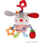 Baby mix plyšová hračka so zvukom Králíček