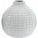 Keramická váza Ball, sivá