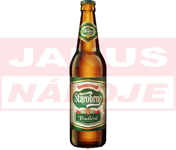 1f5e7471be9bc Pivo Starobrno 10% fľaša 0,5l - Zoznamtovaru.sk