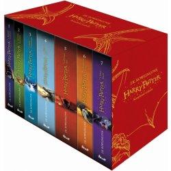 kniha Harry Potter - sada - Joanne K. Rowlingová