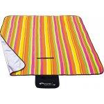 Spokey Pikniková deka Strips 130 x 150 cm barevný proužek