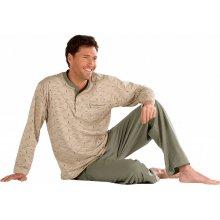 Blancheporte pyžamo s geometrickými motívmi béžová