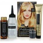 Loréal Recital Preference vysoko odolná farba na vlasy intenzívny lesk Blond svetlá č. P 8/X3