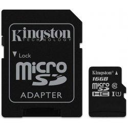 Kingston Canvas Select microSDHC 16GB UHS-I U1 SDCS/16GB