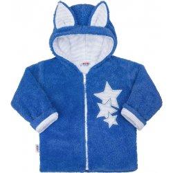 af9a1cfd2add NEW BABY Zimná detská mikina New Baby Ušiačik modrá od 7