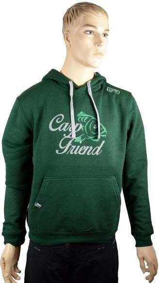 dd92843c2a33 R-spekt Mikina s kapucňou Carp Friend deep green od 38