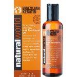 NATURAL WORLD BRAZILIAN KERATIN Oil Treatment 100 ml