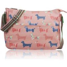 kabelka Berdi Sausage Dog světle růžová f070616218