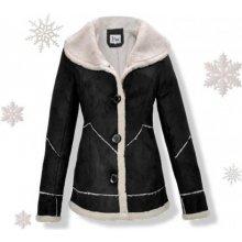 KJP012 Štýlovy dámsky kabát kožuštek