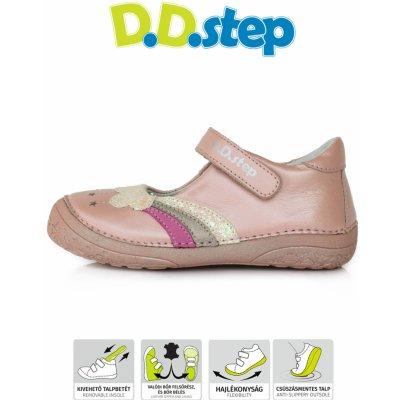 D.D.Step detské dievčenské kožené balerínky 030-60A