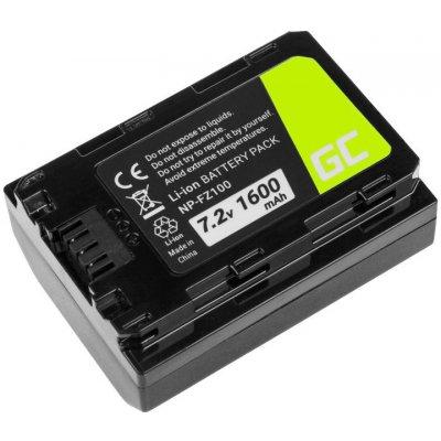 Green Cell NP-FZ100 1600 mAh batéria - neoriginálna
