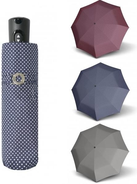 6c0eeb887 Doppler Magic XS Carbonsteel CHIC Dámsky skladací plne automatický dáždnik  modrá