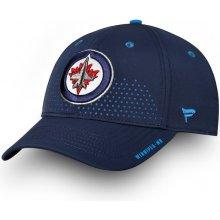 online store 46b21 4061b Fanatics Branded Šiltovka Winnipeg Jets 2018 NHL Draft Flex