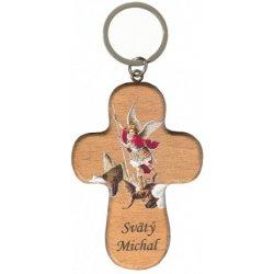 Prívesok na kľúče Svätý Michal drevená (PC CBI MI) od 1 9e04c6c6e42