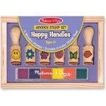 Melissa & Doug Detské pečiatky s úchytkami Happy Handles