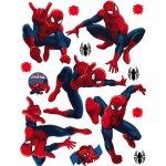 Agart Samolepky na stenu Spiderman Print film, 30x30 cm