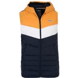 Jack Jones pánska vesta Jorbend Light Bodywarmer Sunflower Blocking ... 2f88a19a976