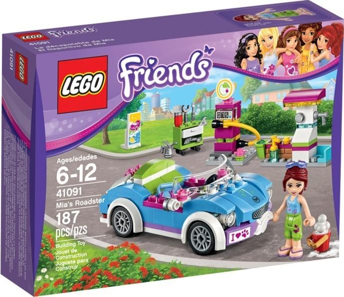 Lego Friends 41091 Miin Kabriolet Alternatívy Heurekask