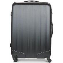 David Jones Pevné cestovné kufre CHAUVETTA 110L čierna