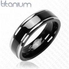 bfc518b7d Steel Edge Titanový prsteň Spikes 628