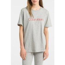 Calvin Klein dámske tričko S S Crew Neck sivé 1da177ddfe0