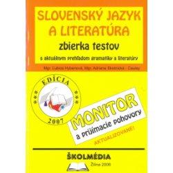d9e899121 Slovenský jazyk a literatúra zbierka testov - Monitor a pp - Hybenová Ľ.,  Skotnická