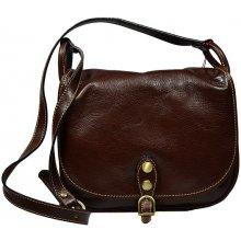 Talianská kožená kabelka Caccia Marrone 2 2369c41478f