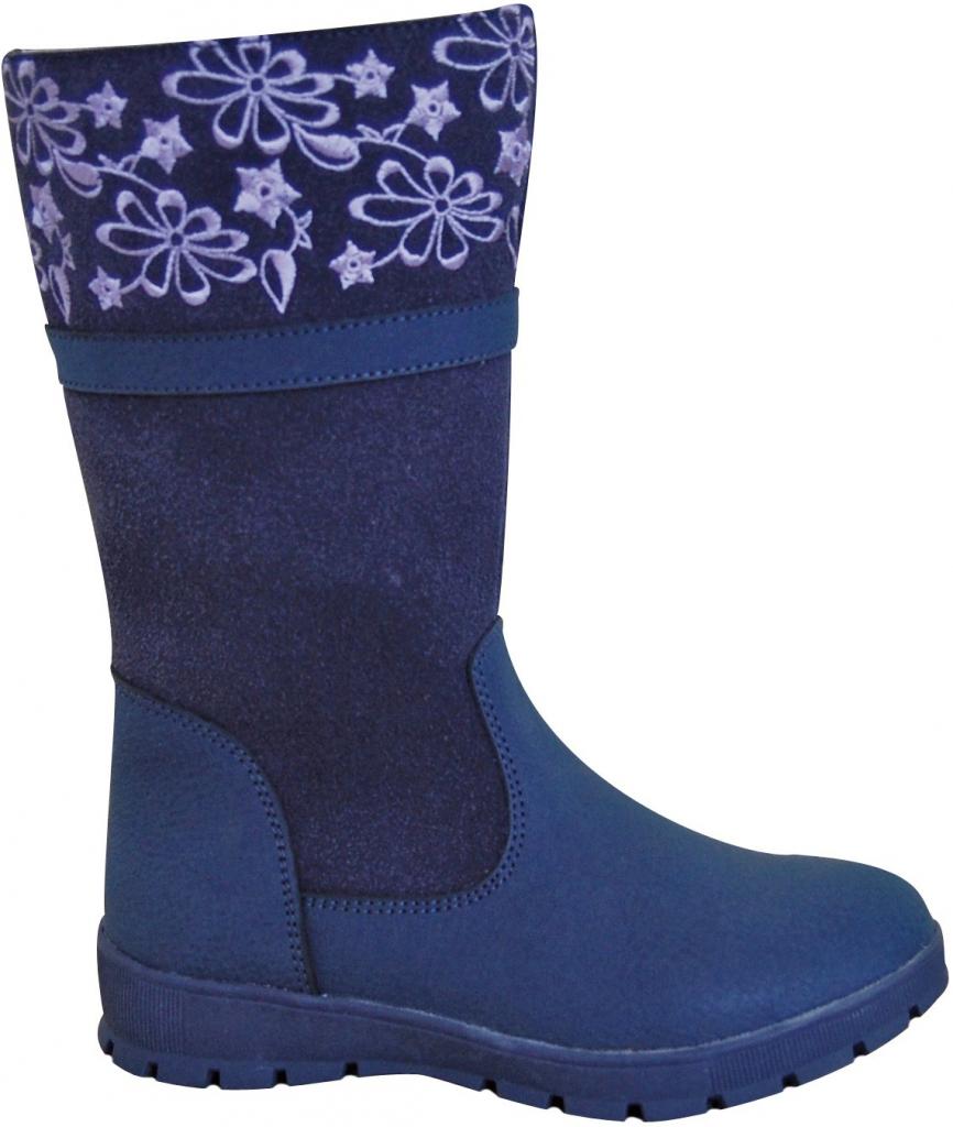 747e4dfa37 Protetika Dievčenské čižmy ATENA modré od 28
