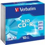Verbatim CD-R 700MB 52x, 10ks