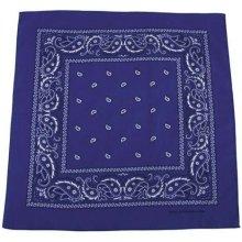 Bandana šátek royal bílý