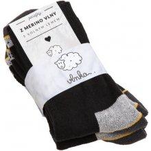 Vlnka Pracovné ponožky merino 2ks