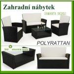 Melfin Záhradný ratanový nábytok SAMANTA DEU02 čierna