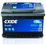 Exide Excell 12V 60Ah 540A, EB602