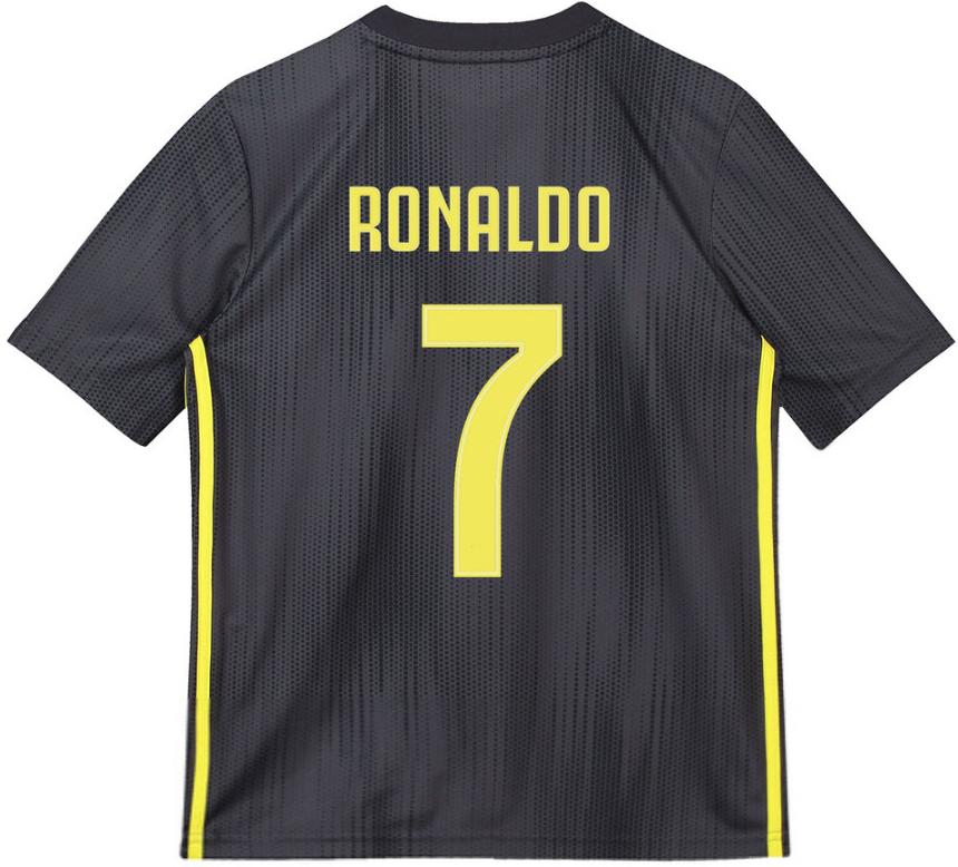 dc6f7810318dc Futbalový dres Adidas Juventus RONALDO detský 2018-2019 alternatívny ...