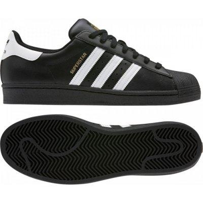 Adidas tenisky Originals SUPERSTAR FOUNDATION Čierna / Biela
