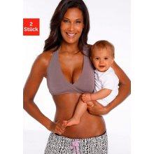 0a234119203 Petite Fleur podprsenka pre dojčiace matky biela+čierna