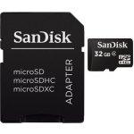 SanDisk microSDHC 32GB class 4 + adapter SDSDQB-032G-B35