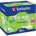 Verbatim CD-RW 700MB 12x, 10ks
