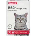 Beaphar SOS antiparazitný obojok pre mačky 35 cm