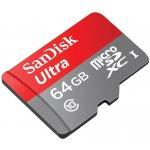 Sandisk Ultra microSDXC 64GB UHS-I SDSQUNB-064G-GN3MN